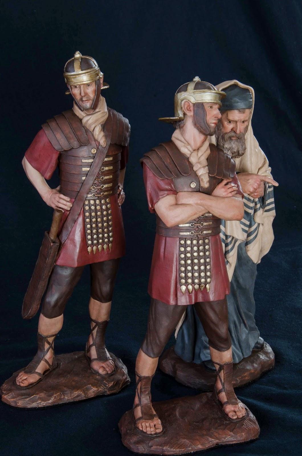 Belén presepe nativitykrippeArturo Serra escultura barro cocido 2