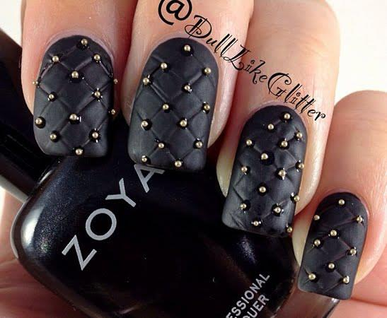 The Charming 2015 black nail designs Photograph