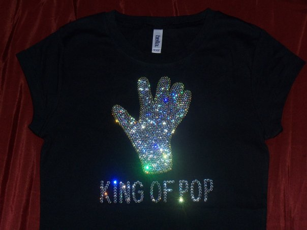 T shirts in 100 swarovski available now for Swarovski crystal t shirts