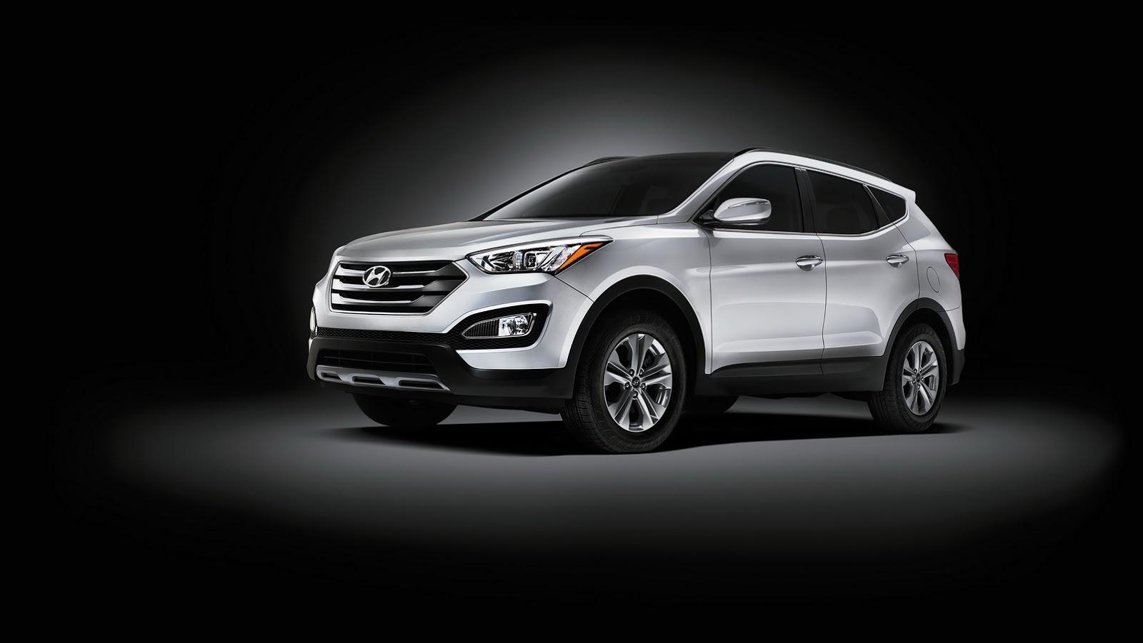 2019 Santa Fe Sport >> Hyundai Refreshes 2015 Santa Fe with Chassis and Equipment Upgrades