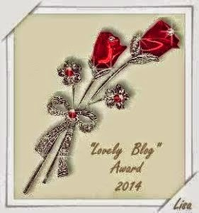 "Premio ""Lovely Blog Award 2014"""