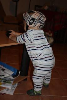 bébé avec casque no shock ok baby