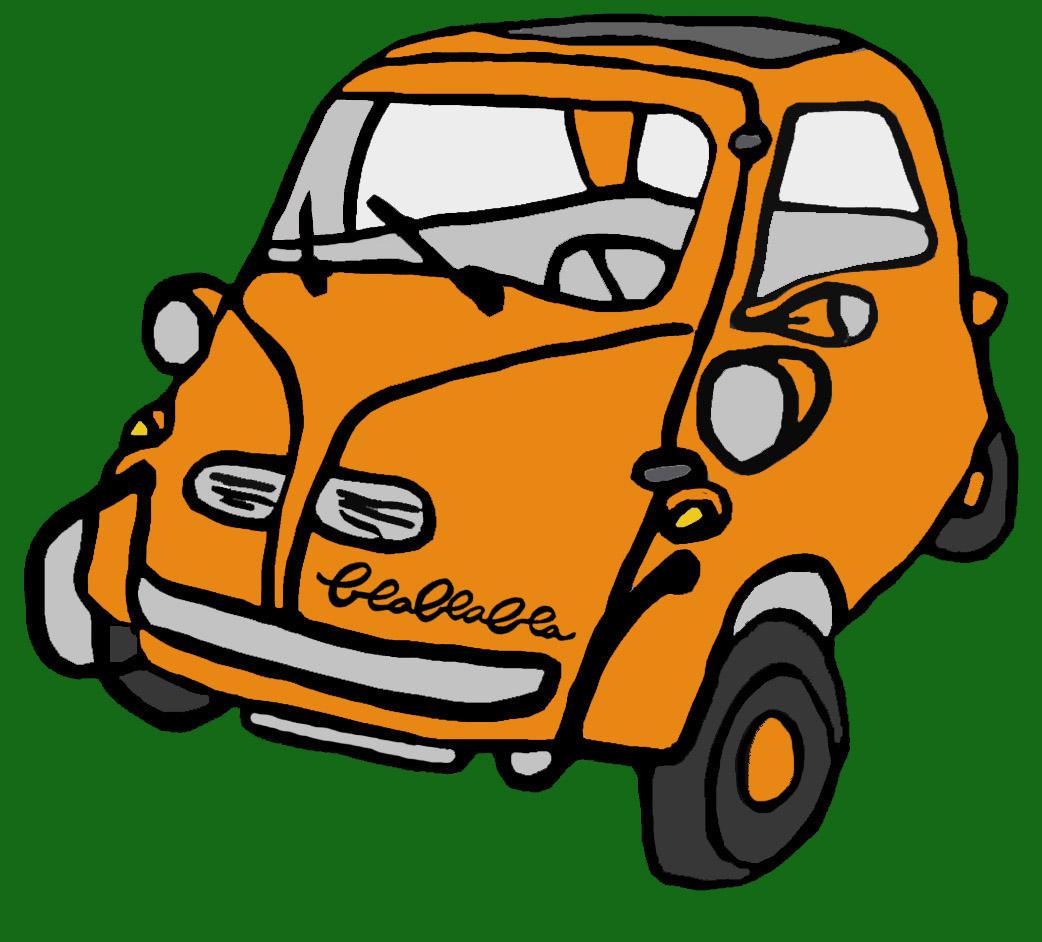 Blablabla camisetas madrid isettas el coche huevo for Coche huevo