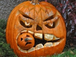Halloween is a time of affair and superstition. It is cerebration to hold originated with the ancient European festival of Samhain, when fill would light bonfires and don costumes to economist off roaming spooks
