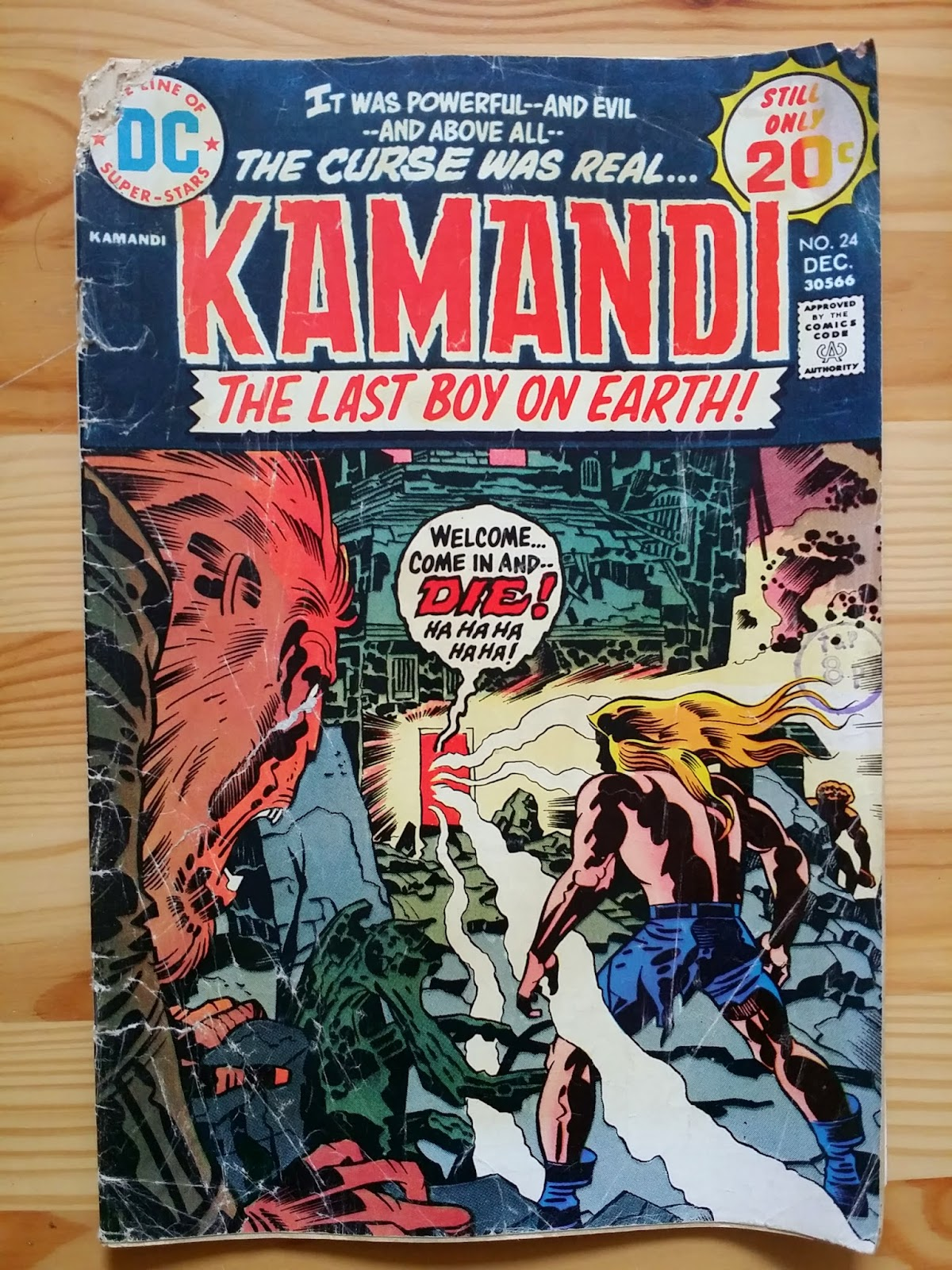 DC Comics Kamandi The Last Boy on Earth