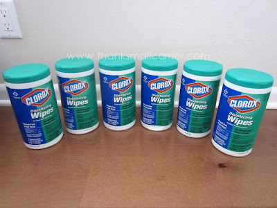 Clorox Fresh Scent wipes