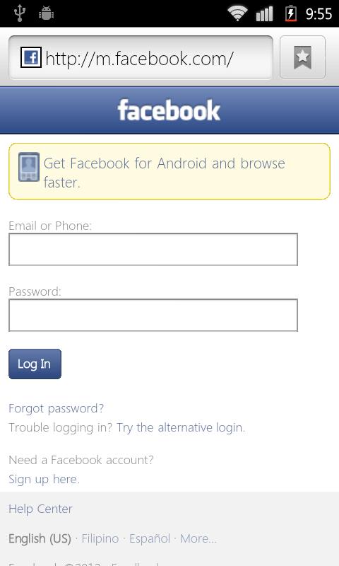 M login facebook www com How to