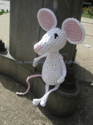 Amigurumi ratita realizada a crochet