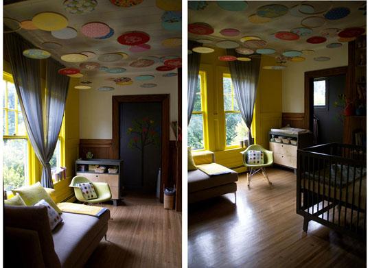 inspiracion exterior cuartos de bebe originales - Habitaciones De Bebe Originales
