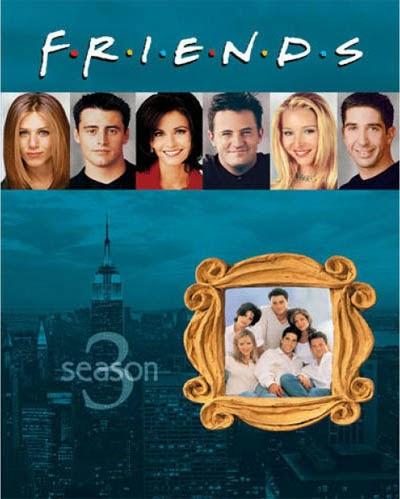مشاهدة مسلسل الامريكي الكوميدي Friends مترجم الموسم الثالث 3 اون لاين