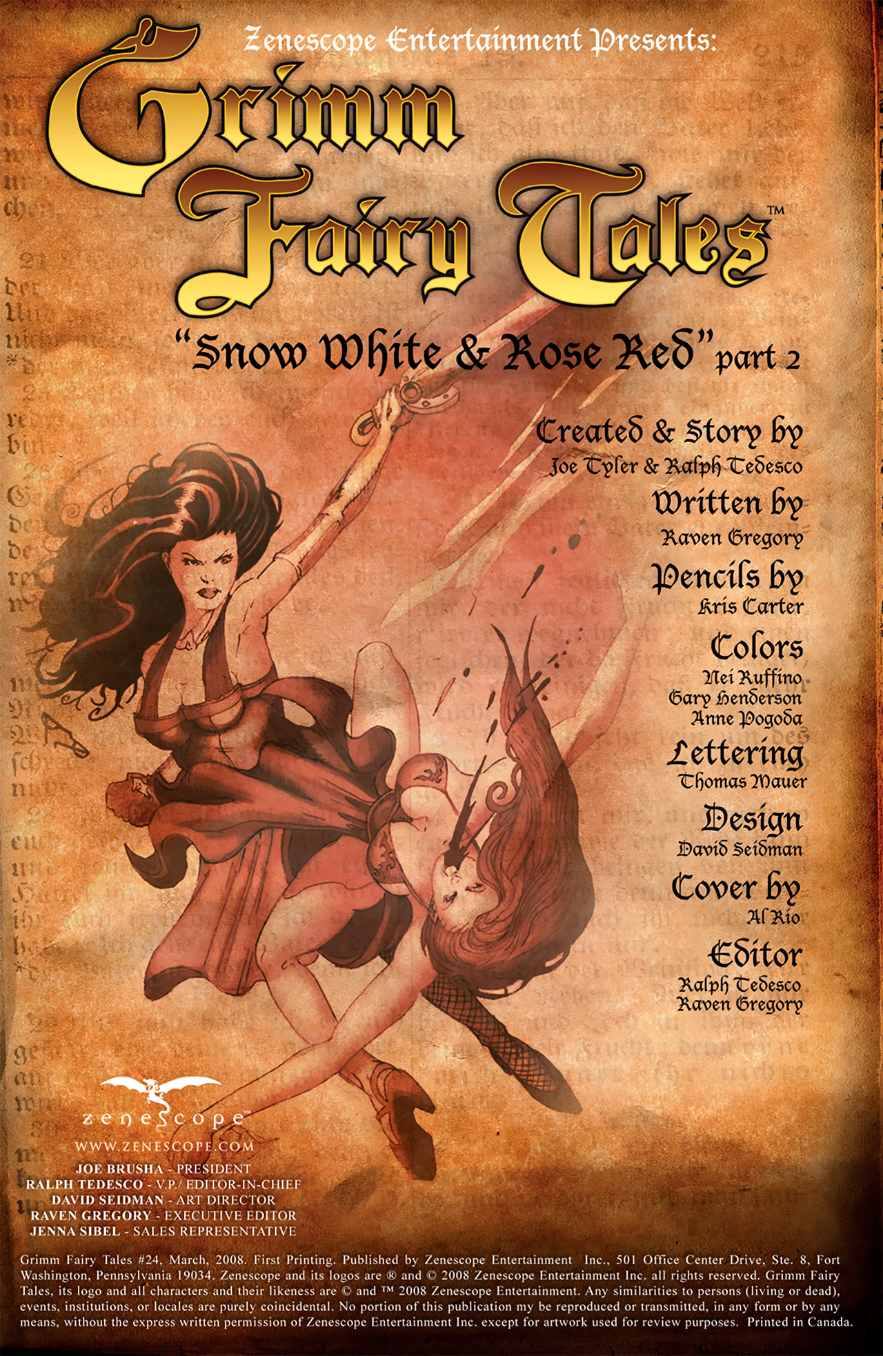 Grimm Fairy Tales (2005) Issue #24 #27 - English 2
