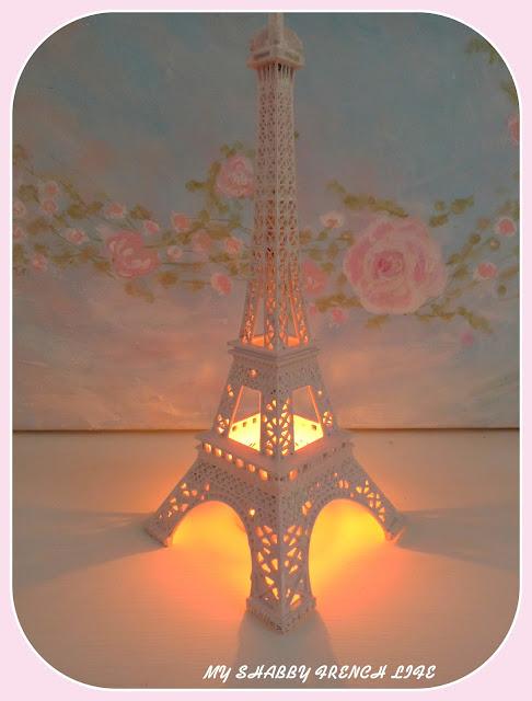 #Tour Eiffel shabby