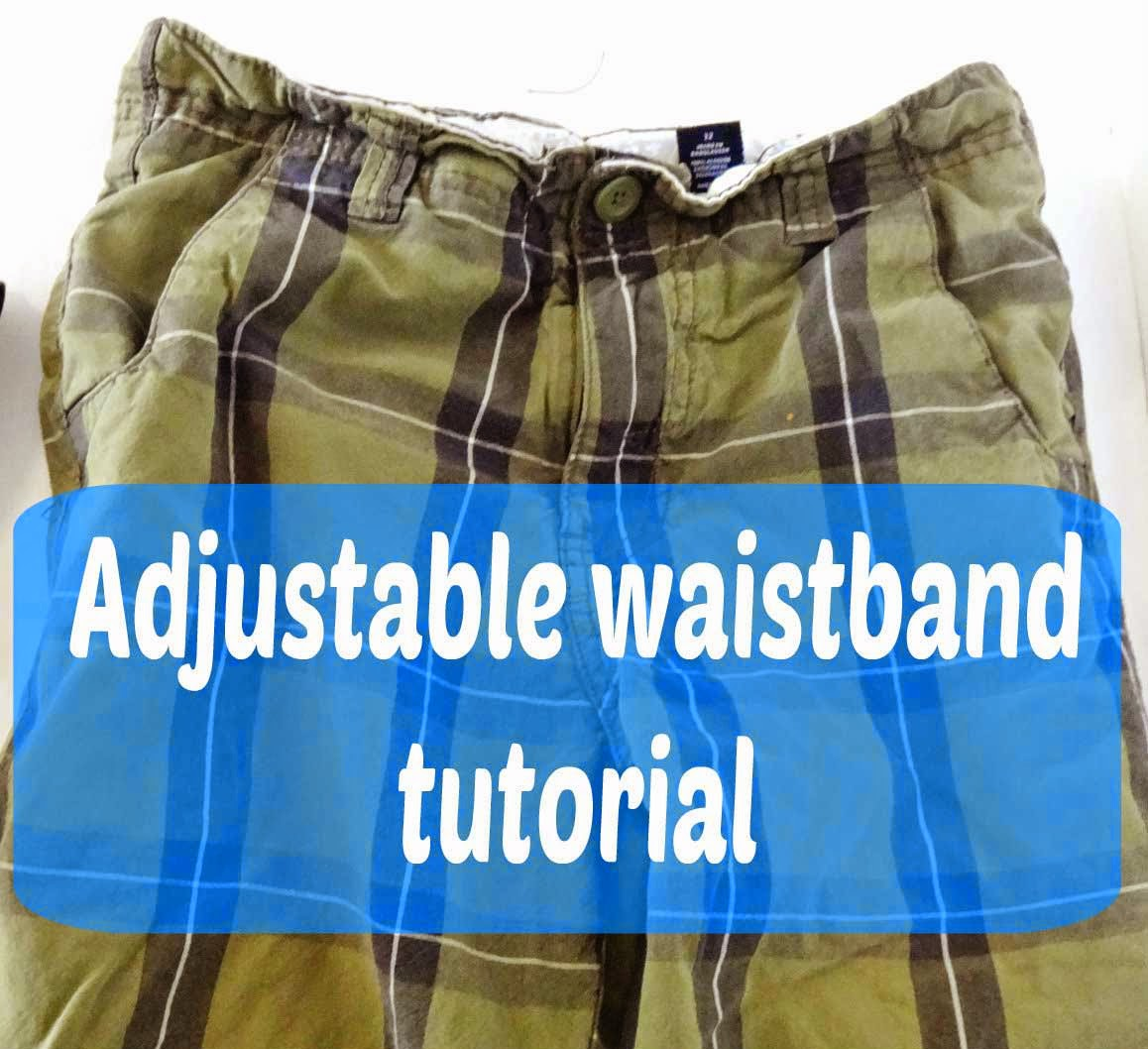 Adjustable Book Cover Tutorial : Seemesew tutorial tuesday adjustable waistband
