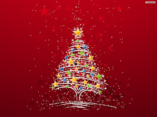 Free Download Christmas Stars Tree Wallpaper