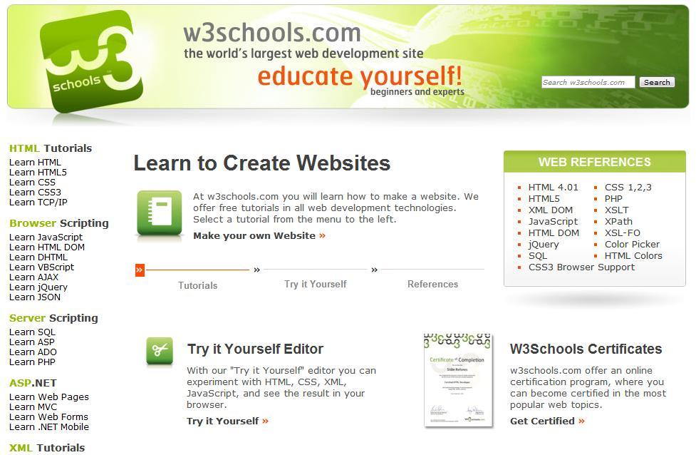 HTML Tutorial  W3Schools