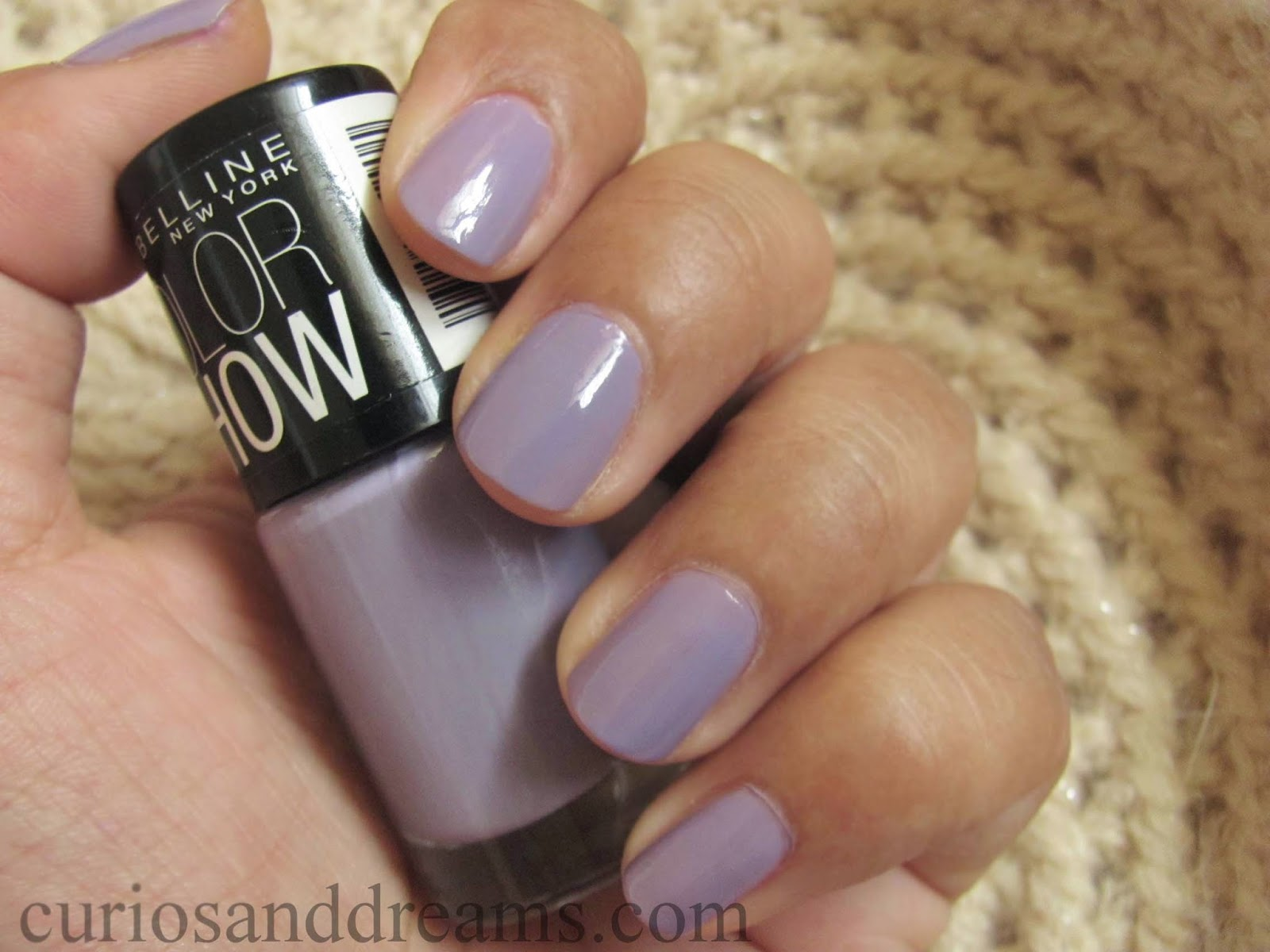 Maybelline Color Show Blackcurrant Pop review, Color Show Blackcurrant Pop review