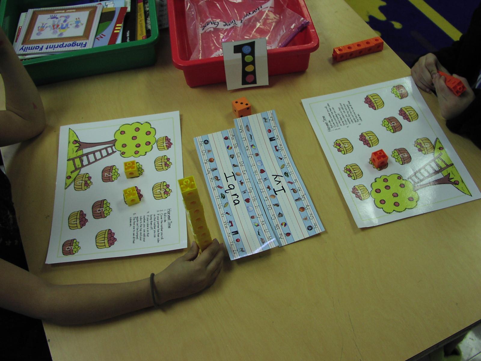 Keen On Kindergarten: September Math Work Stations
