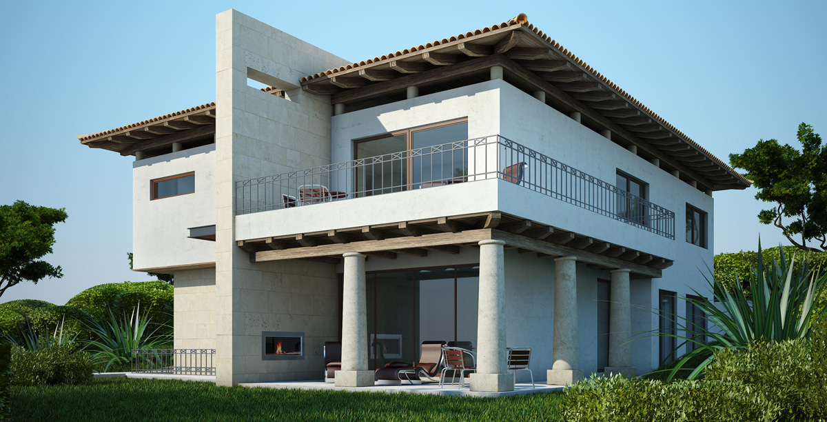 Renders casas 3d para empresas constructoras blog for Empresas constructoras de casas