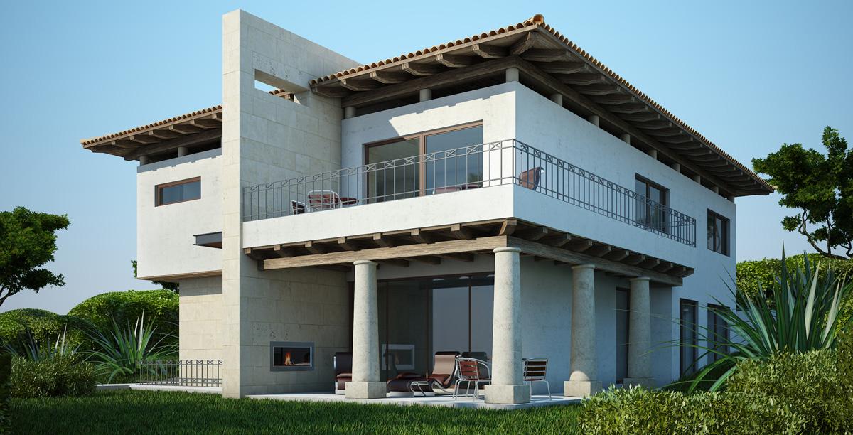 Renders casas 3d para empresas constructoras blog for Casas 3d