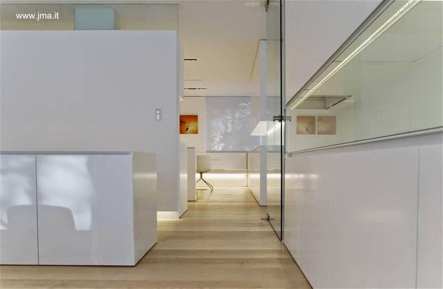 Vista de un sector del interior de la Casa Dolomite
