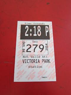 Victoria Park station transfer