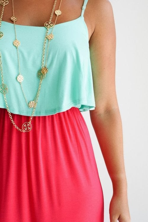 Lovely combo top and skirt fashion trend