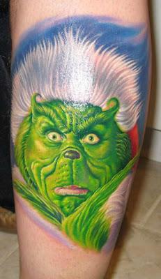 Tatuaje de Grinch
