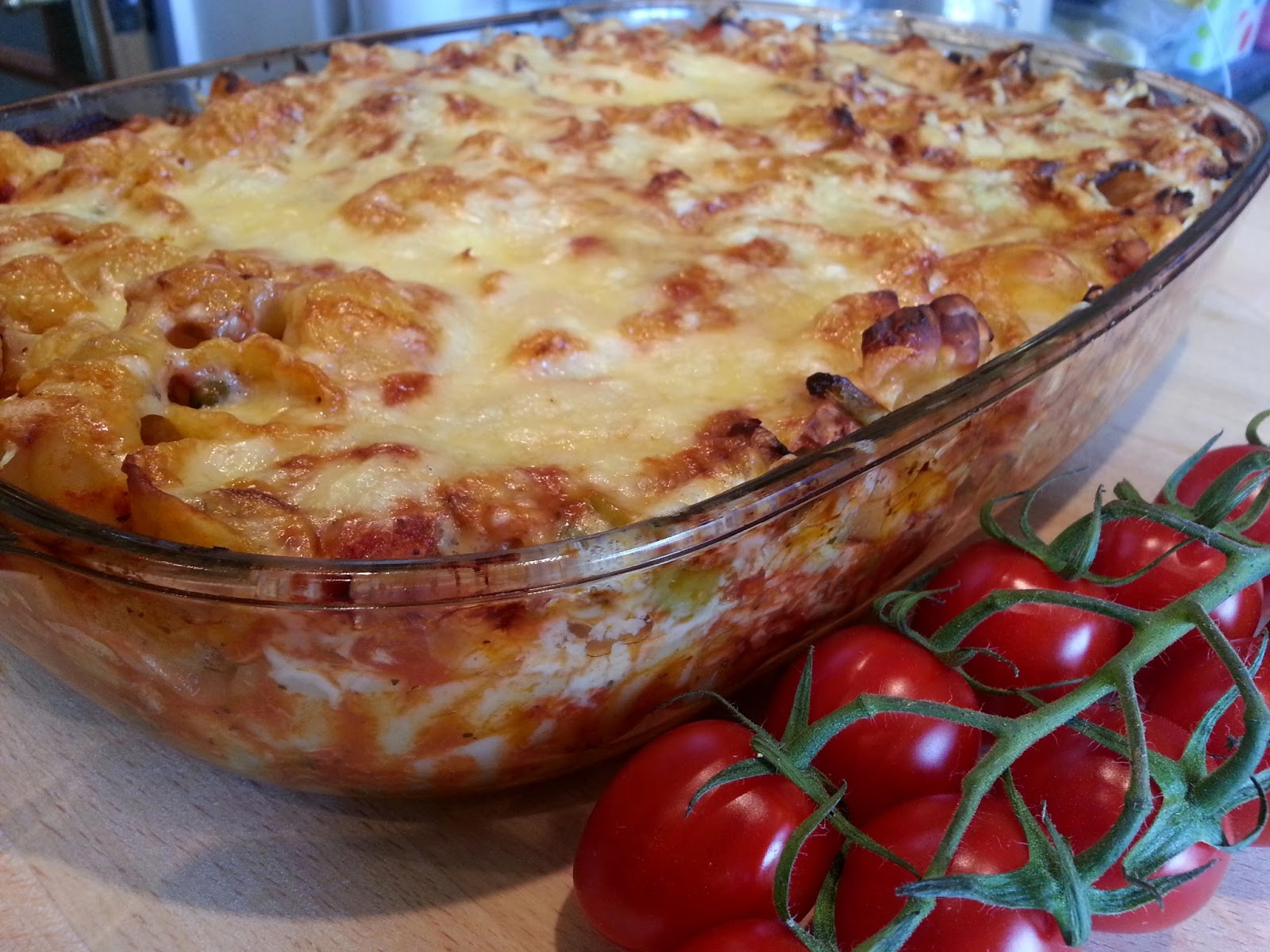 Slimming World Delights Tuna Pasta Bake
