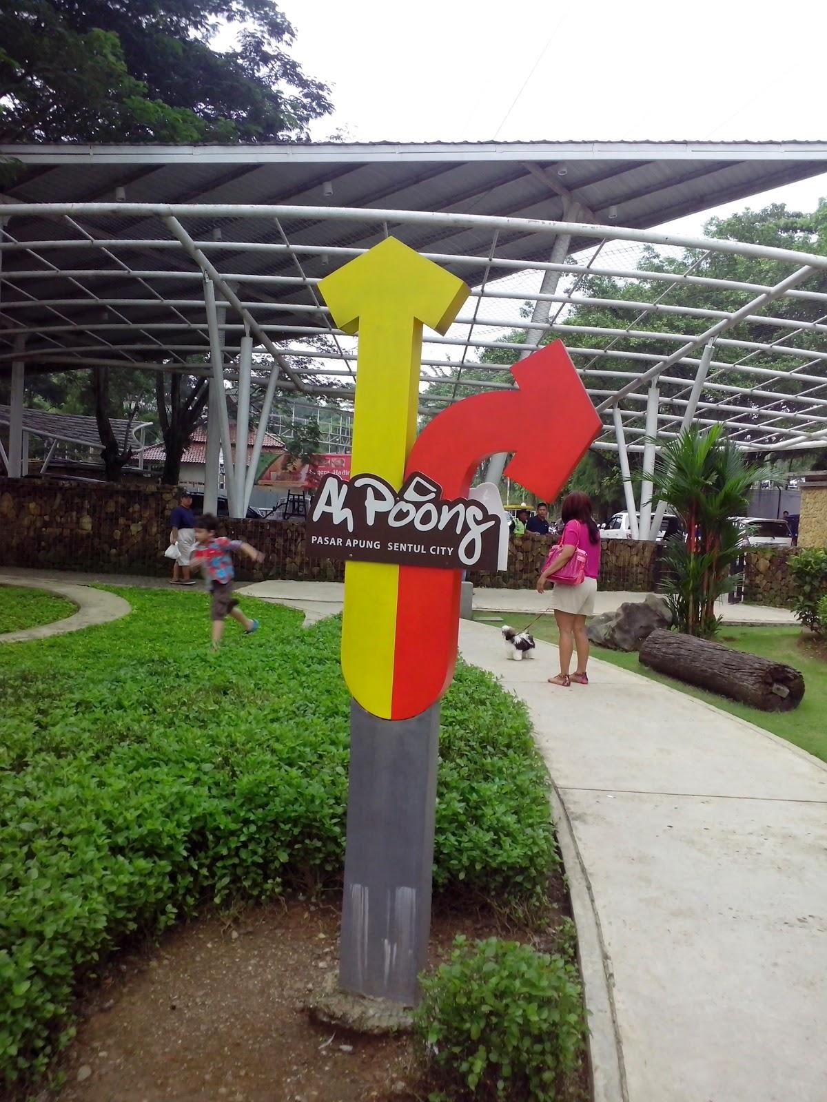 """Pasar Apung """"Ah Poong"""" Sentul"""