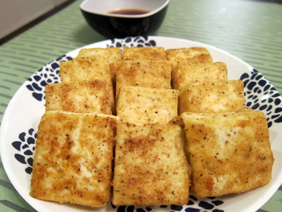 Enjoyer of Grace: CRISPY PAN-FRIED TOFU