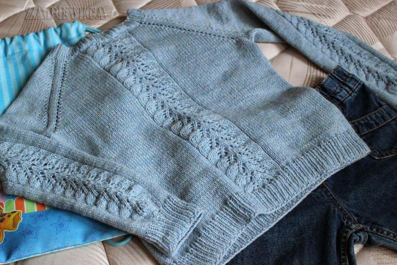 Пуловер для дочки от Светланы Волковой - Вяжем вместе 41