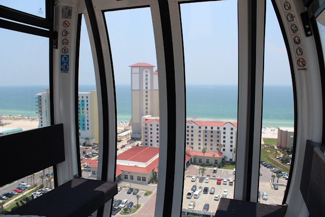 View from 360 Pensacola Beach Observation Wheel