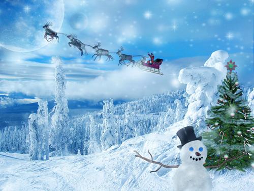 christmas snow wallpaper. Christmas Snowman Wallpapers