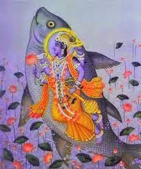 Lord Vishnu Incarnation - Matsaya Avtaar