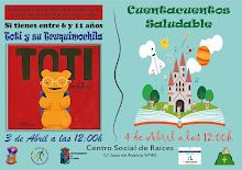 3 Y 4 DE ABRIL EN EL CENTRO SOCIAL DE RAICES
