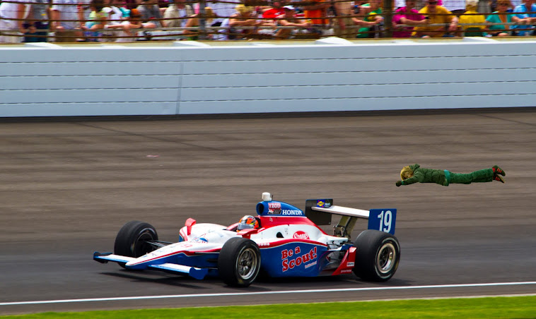 13. The Indianapolis 500, or was that the 501?