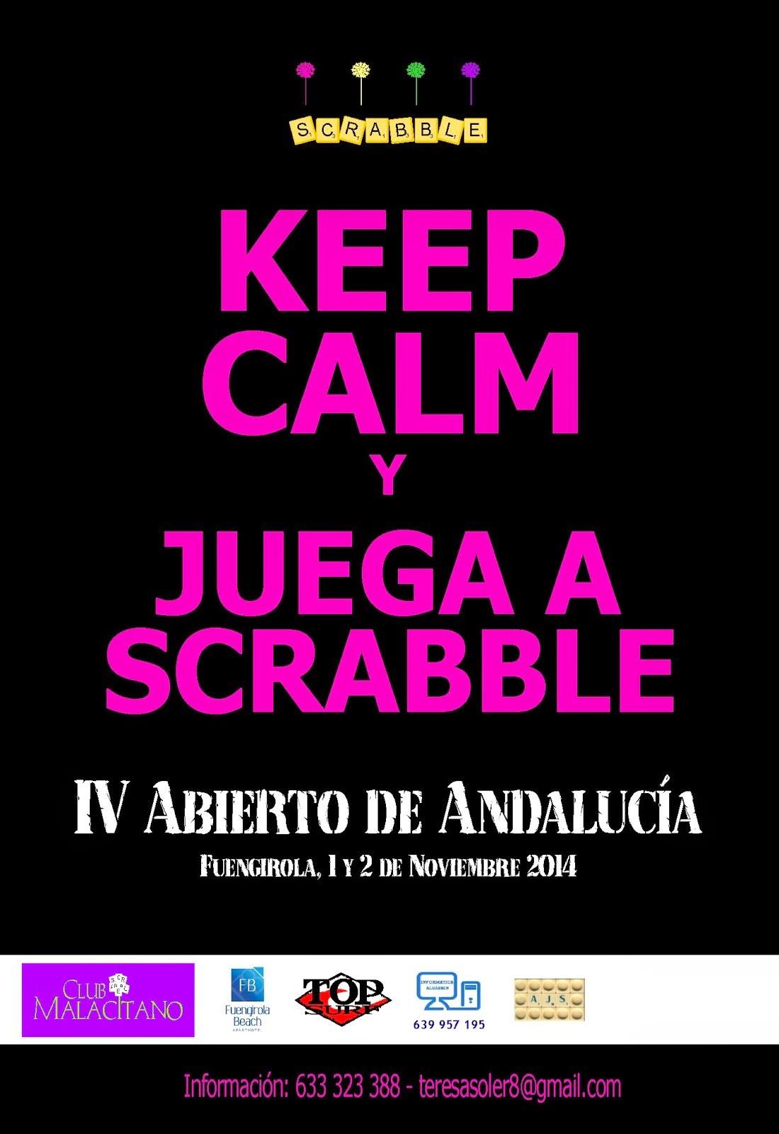 IV Abierto de Andalucía de Scrabble