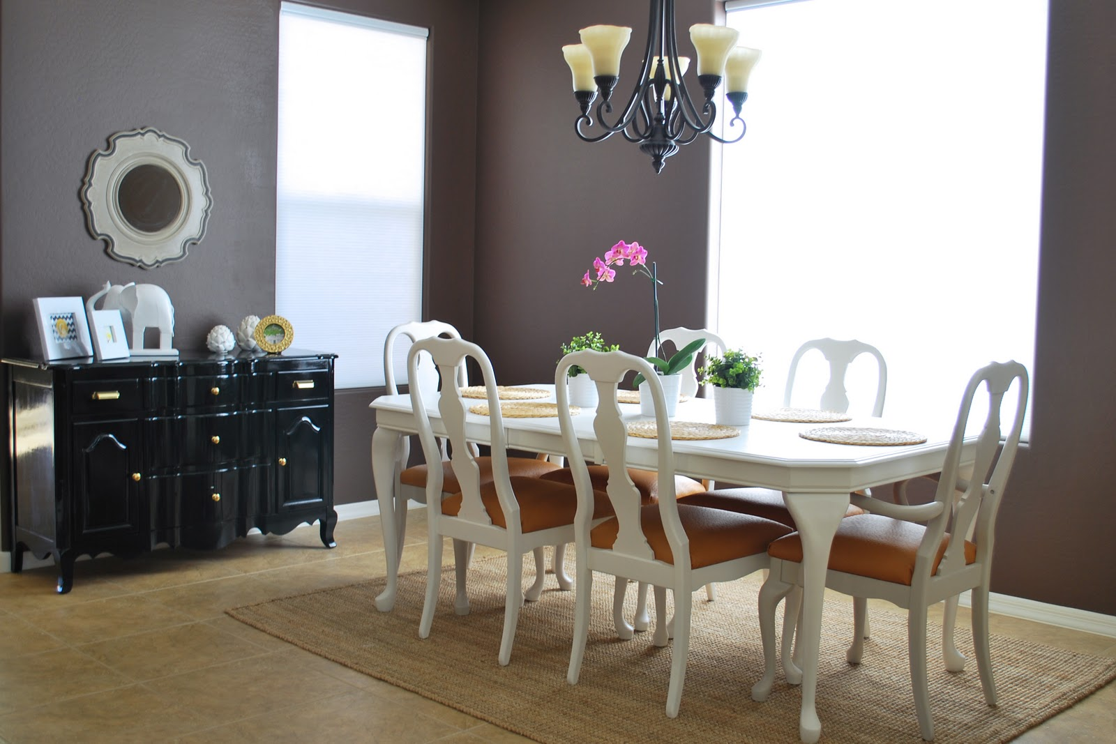 remodelaholic | refinished dining room table and chair re
