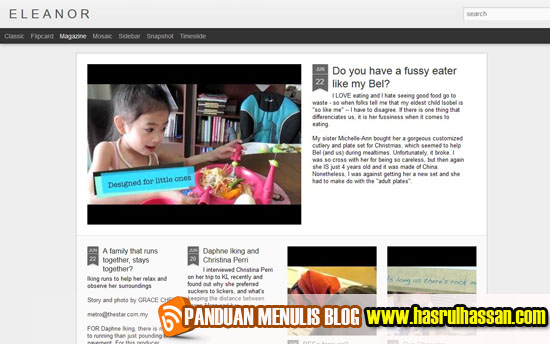 Blog Dahlia Daphne Eleanor Mozes Iking | Eleanor