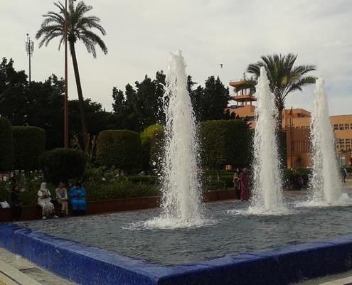 Ville Nouvelle (Gueliz), Marrakech | Happy in Red