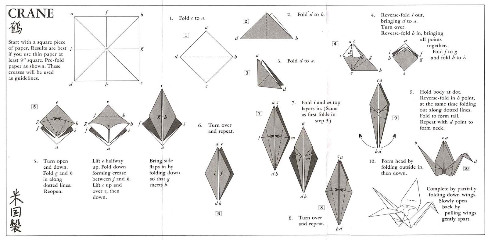 Оригами из бумаги с инструкцией и фото