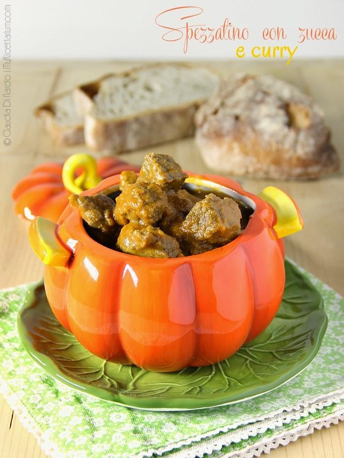 Spezzatino di manzo con zucca e curry