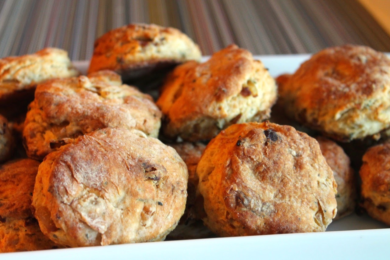 Rosemary-Onion and Pepper Biscuits