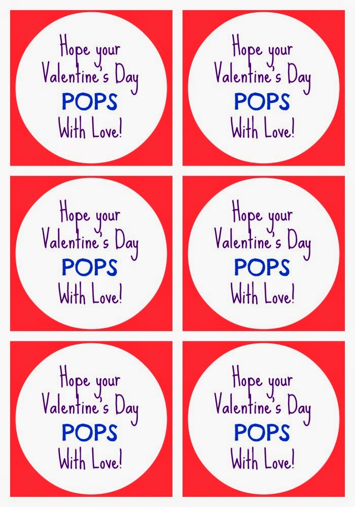 Easy Valentine's Day Bubble Favors + Printable || The Chirping Moms