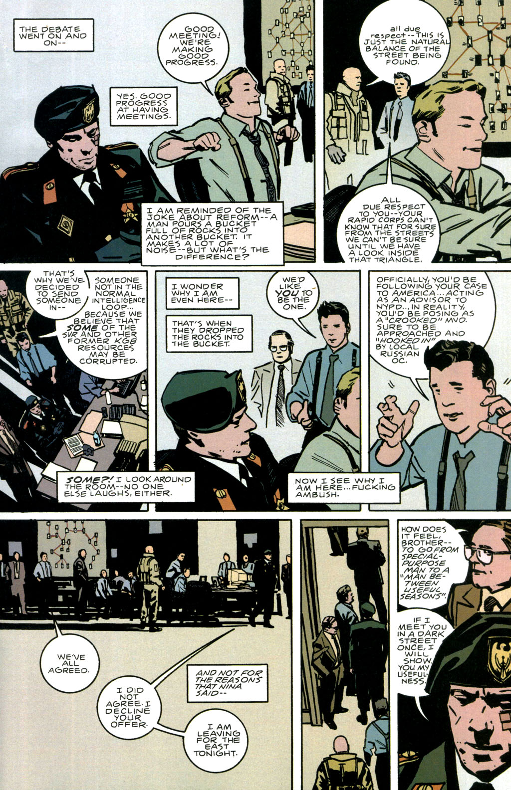 Read online The Winter Men comic -  Issue #1 - 28