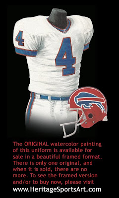 Buffalo Bills 1993 uniform