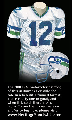 Seattle Seahawks 1984 uniform