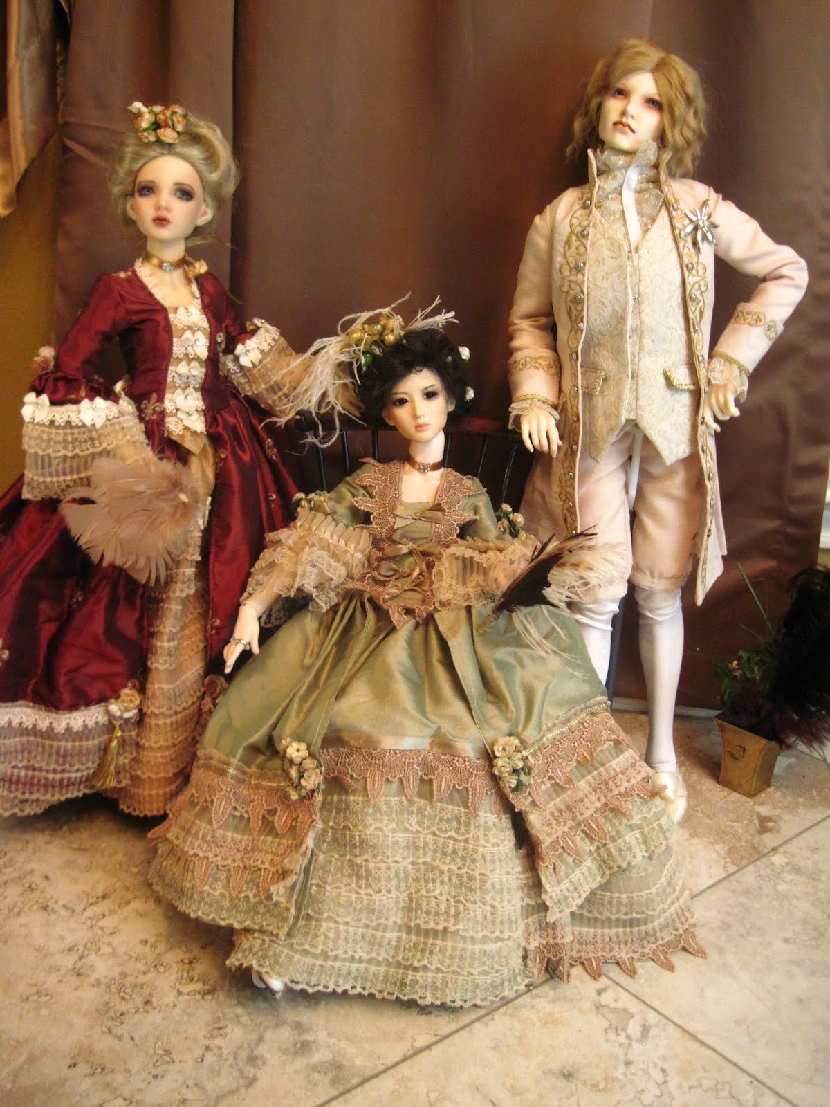 Bjd 39 s and cloth dolls by faithyhopey rococo period clothing for French rococo period