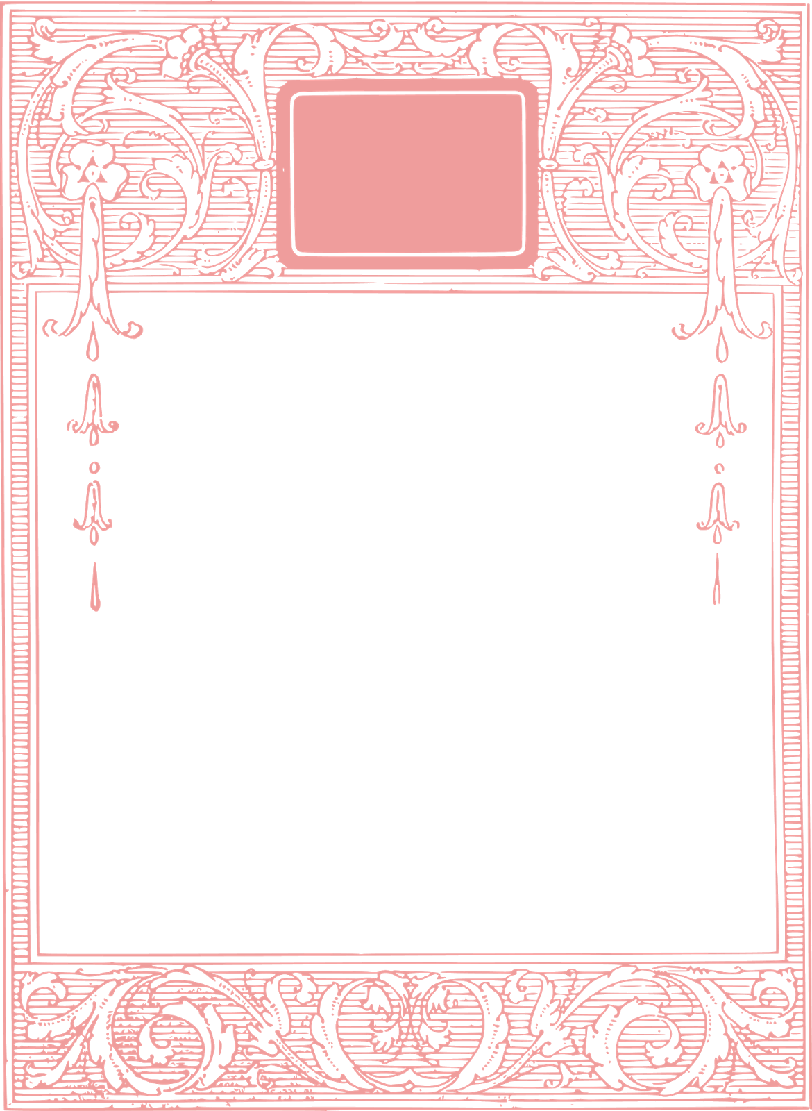 Gorgeous Free Vintage Frame Borders And Images