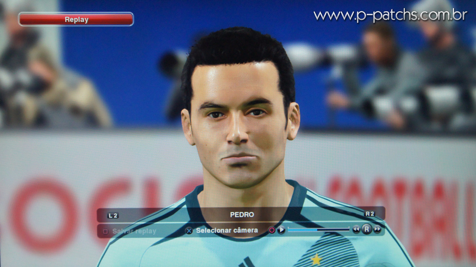 Face do Pedro no PES 2014